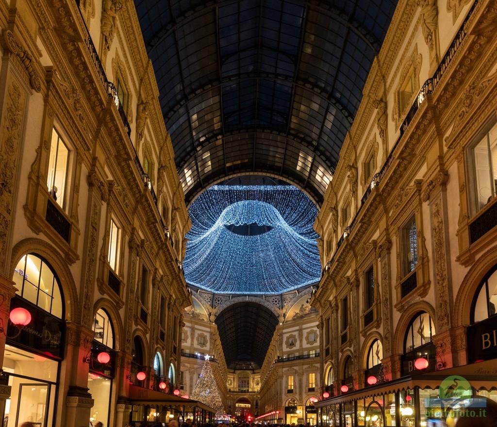Natale in Galleria A Milano