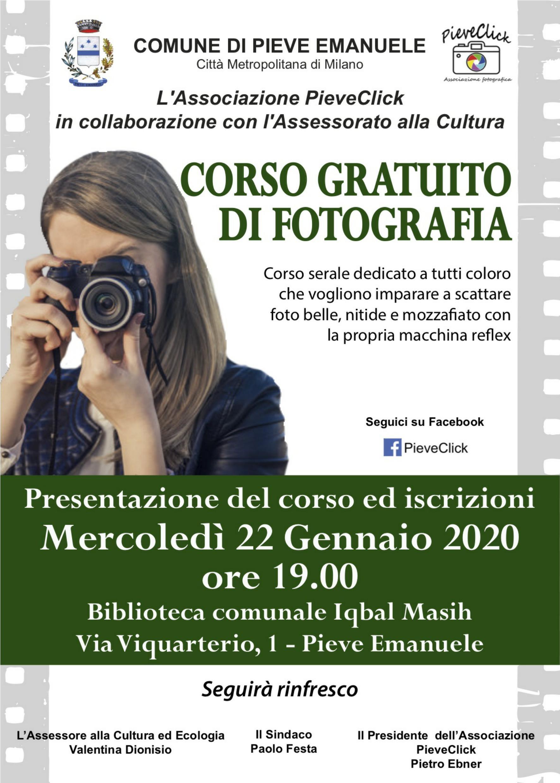 Corso di fotografia a Pieve Emanuele