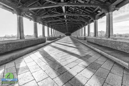 Pavia il ponte coperto