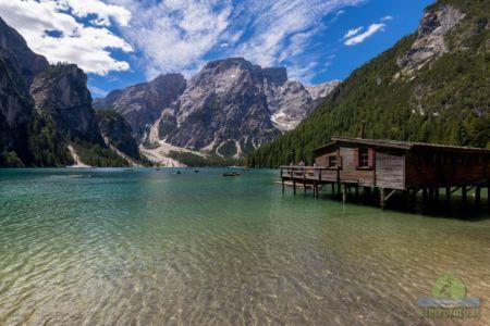 The lake of Braies