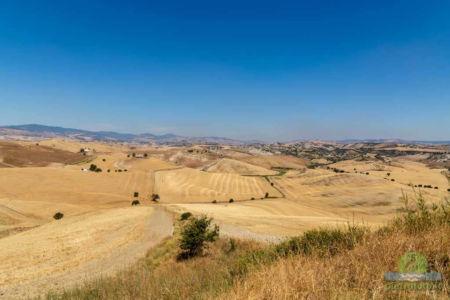 basilicata and matera landscape