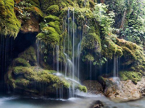 Capelli di Venere waterfalls