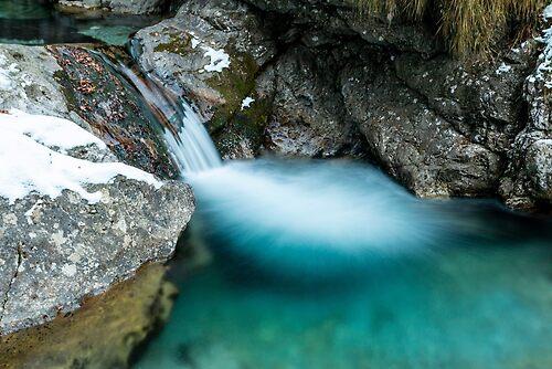 Val Vertova waterfalls