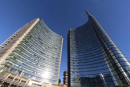 Milano Piazza Gae Aulenti