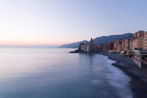Sunset in Camogli
