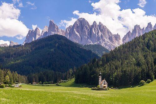 Landscape of Val Funes