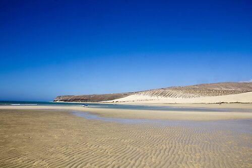 Beach in Fuerteventura