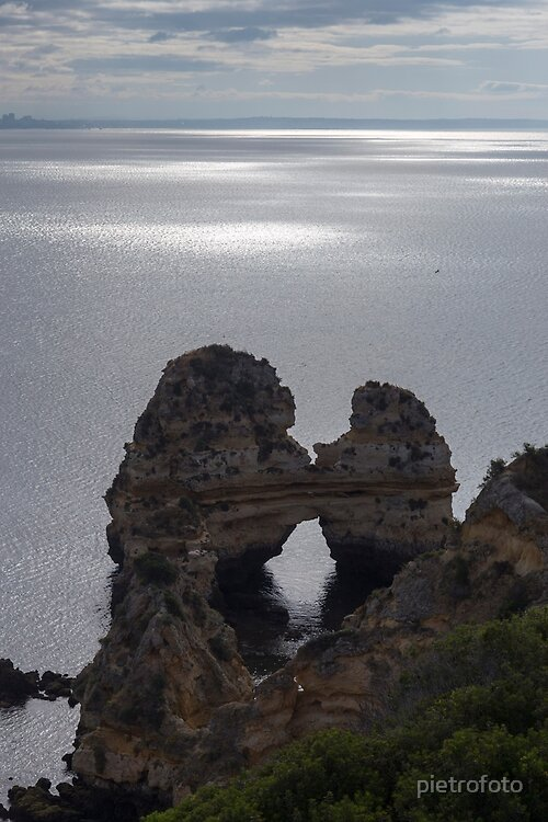 Rocks in Algarve coast