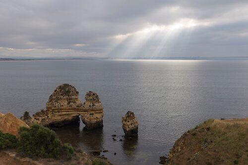 The coast of Algarve